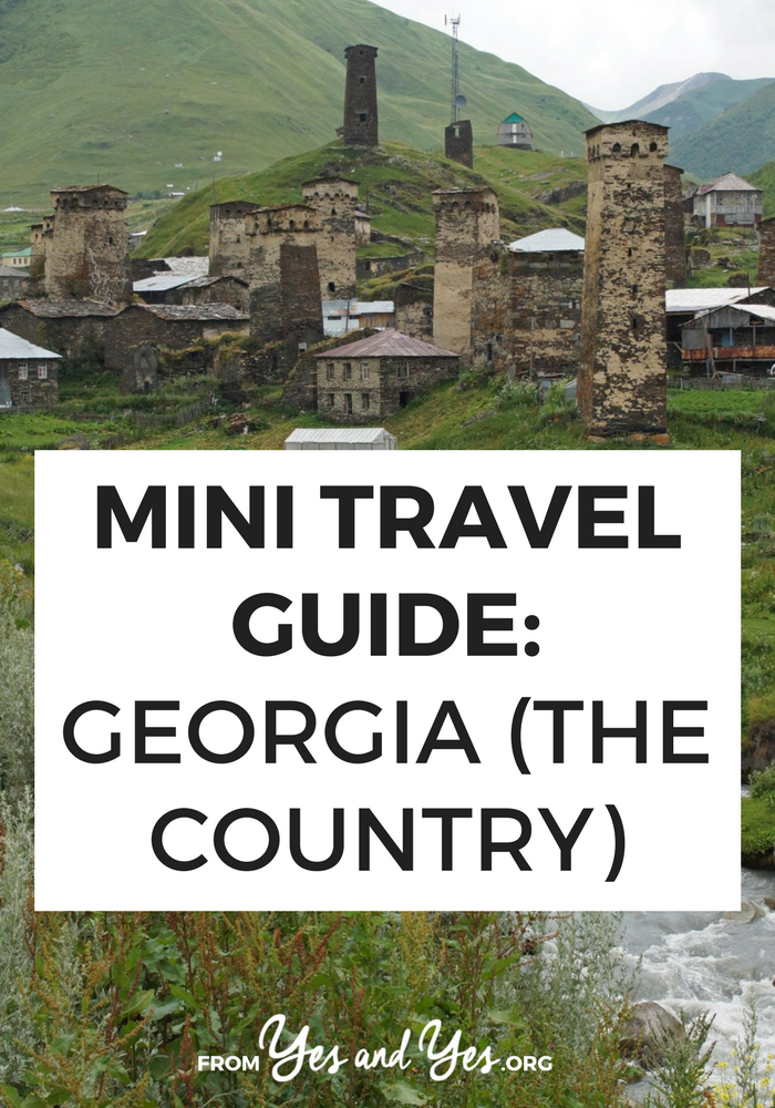 Looking for a travel guide on Georgia, the country? Look no further! Click through for from-an-expat tips on what to do, where to go, what to eat, and how to travel cheap in Georgia!