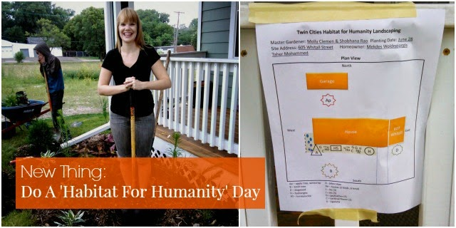New Thing: Do A 'Habitat For Humanity' Day