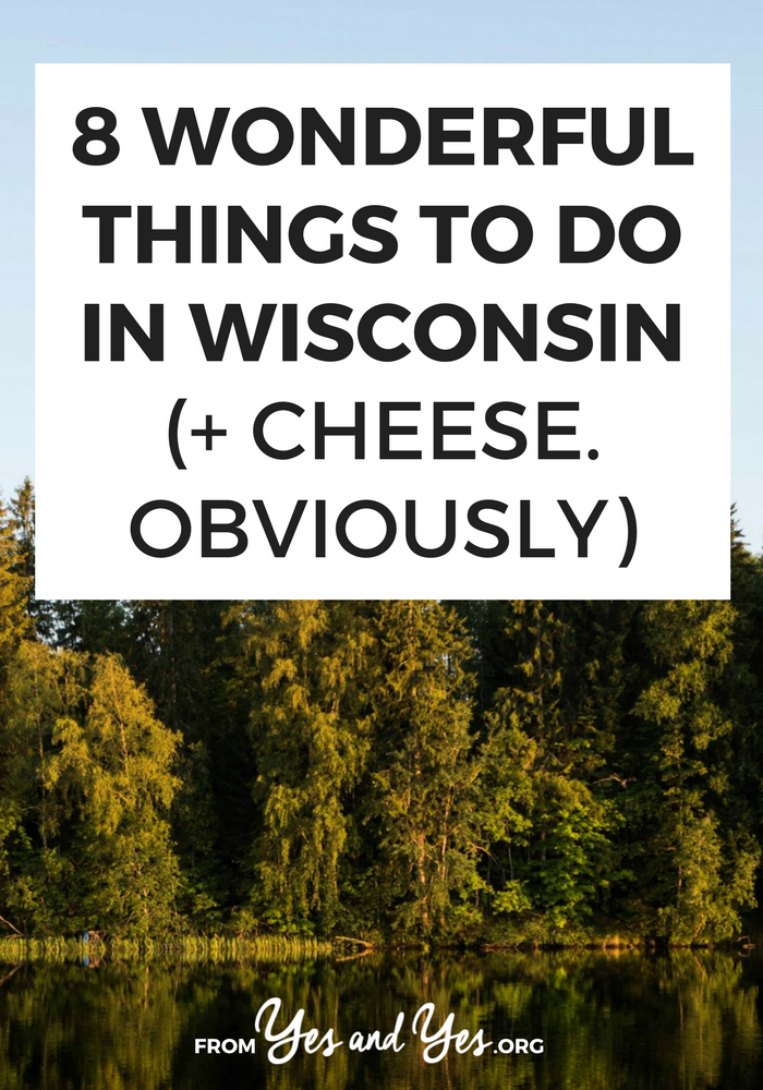 Looking for things to do in Wisconsin? Look no further! This Wisconsin travel guide has tons of off-the-beaten-path ideas for what to do, where to go, and what to eat in the cheese state! Click through and start planning your trip to Wisconsin today!