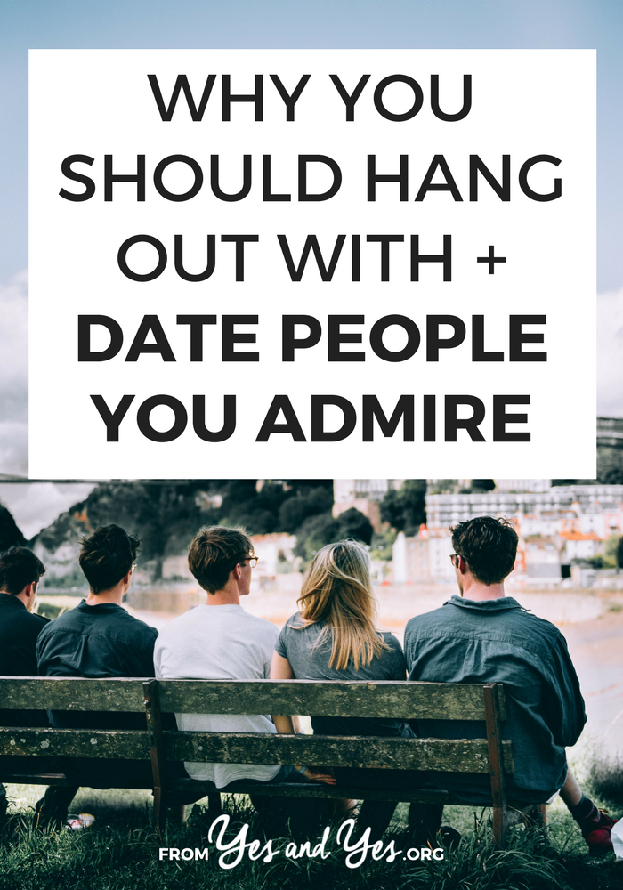 Looking for dating advice? Friendship advice? It can't get simpler than this: hang out with people who make you a better person.  #friendship #datingadvice #makefriends