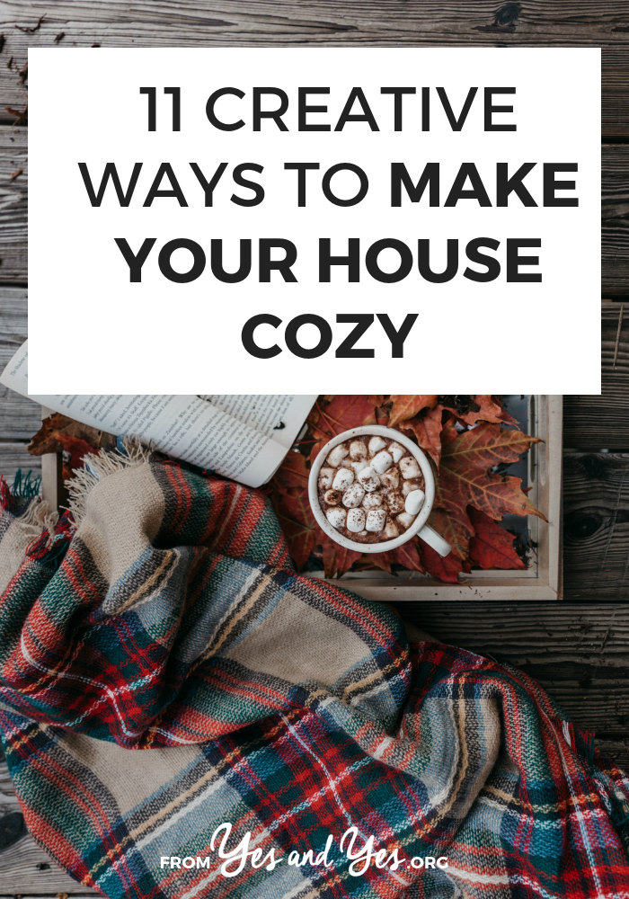 Want to make your house cozy? Looking for cozy decor tips? Look no further! Read on for cozy, warming, fun ways to make your house a snuggle palace this winter! #hygge #cozydecor #wintertips #decorating #feelgood