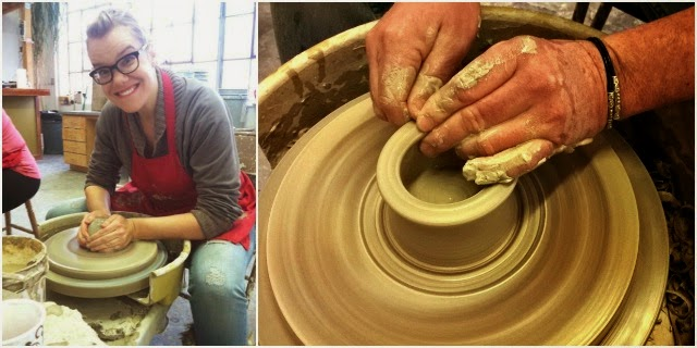 New Thing: Take a pottery class