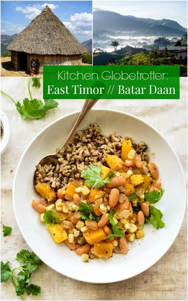 Kitchen Globetrotter: East Timor // Batar Daan