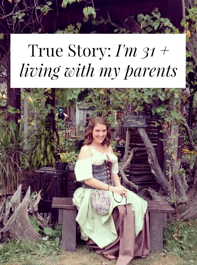 living with parents