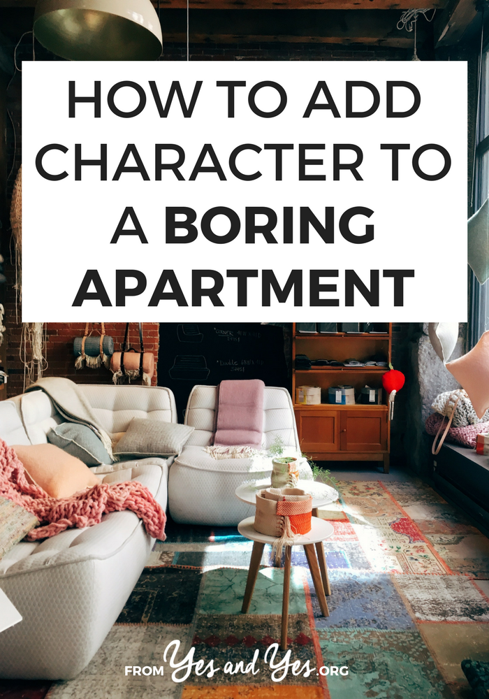 Want to add character to a boring apartment? Make your space feel like 'home'? Click through for design tips that will make any space feel cozy and homey!