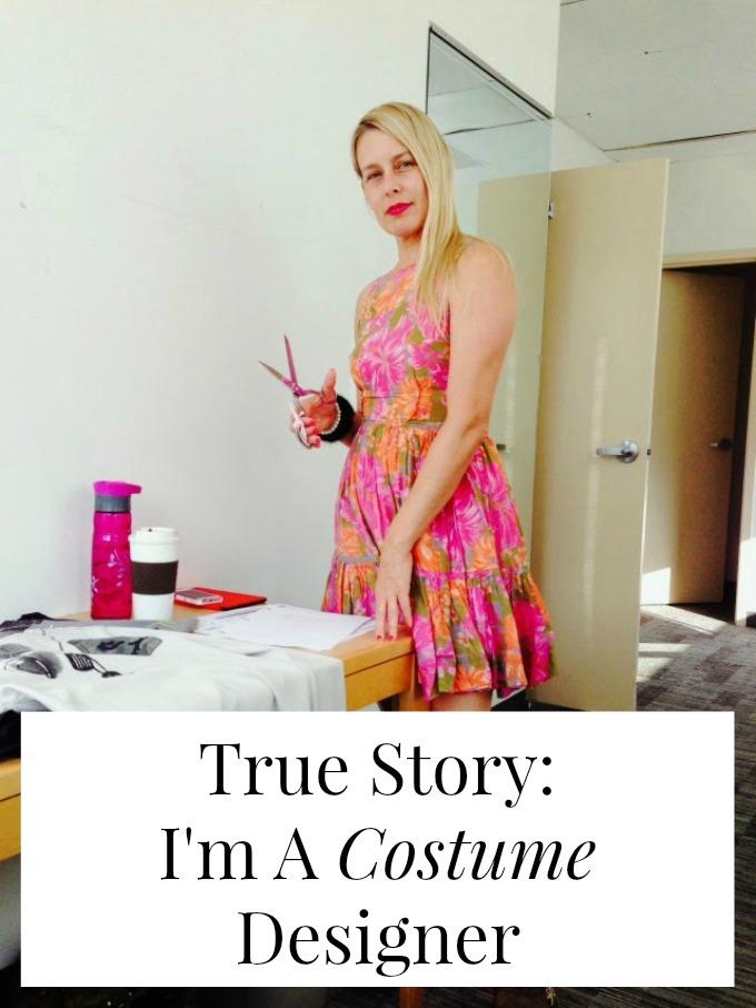 I'm a costume designer