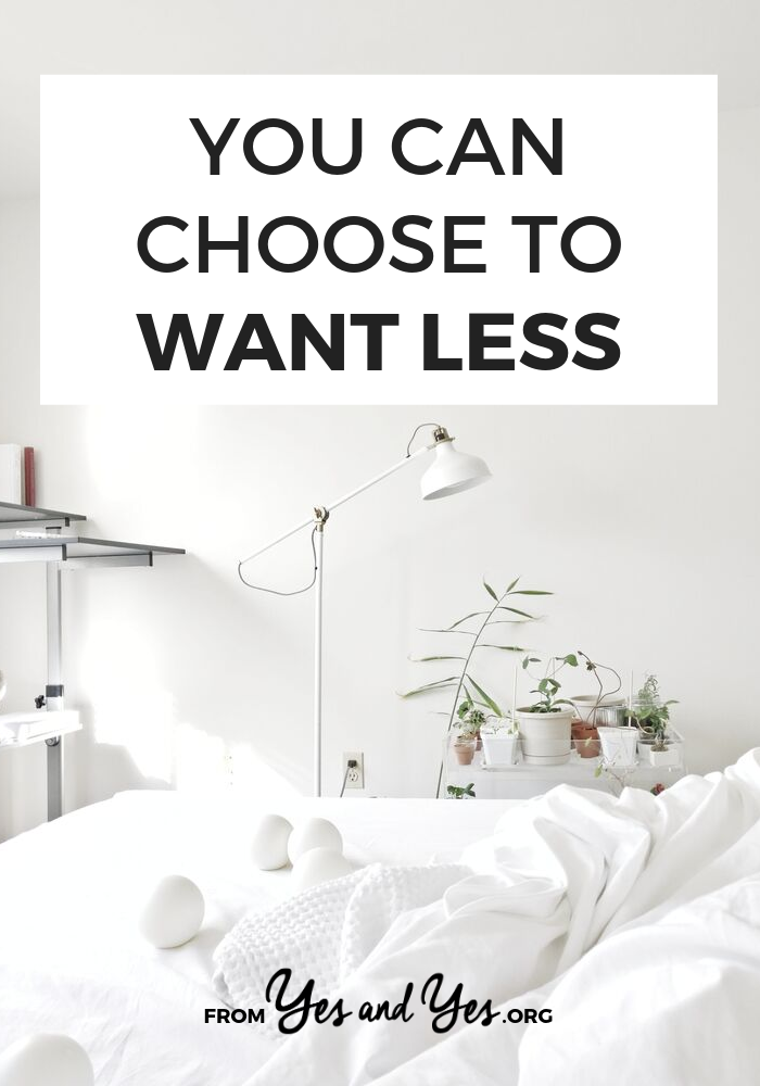 Are you a minimalist? Are you trying to get into minimalism? Sometimes it just comes down to wanting less. Here's how. #minimalism #intentionalspending #yourmoneyoryourlife #FIRE