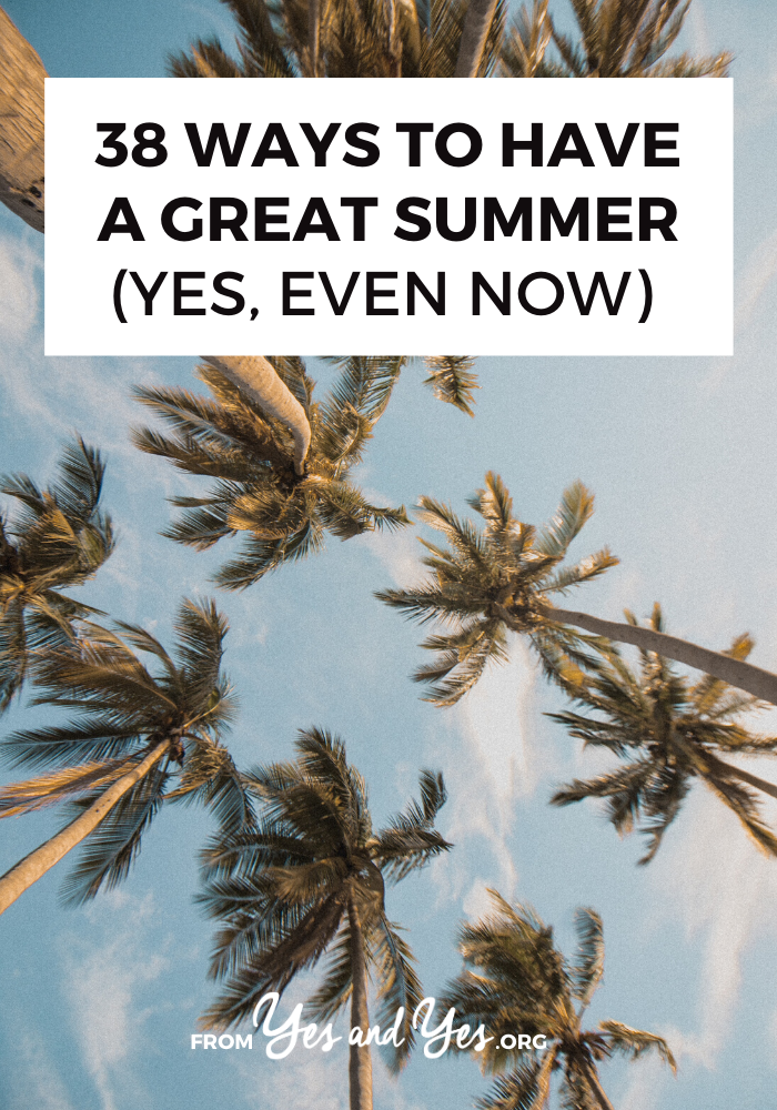Looking for summer ideas that will make these three months amazing? You're in the right place! Read on nfor fun ideas for parties, day trips, and summer activities that are super fun! #summerideas #summerfun