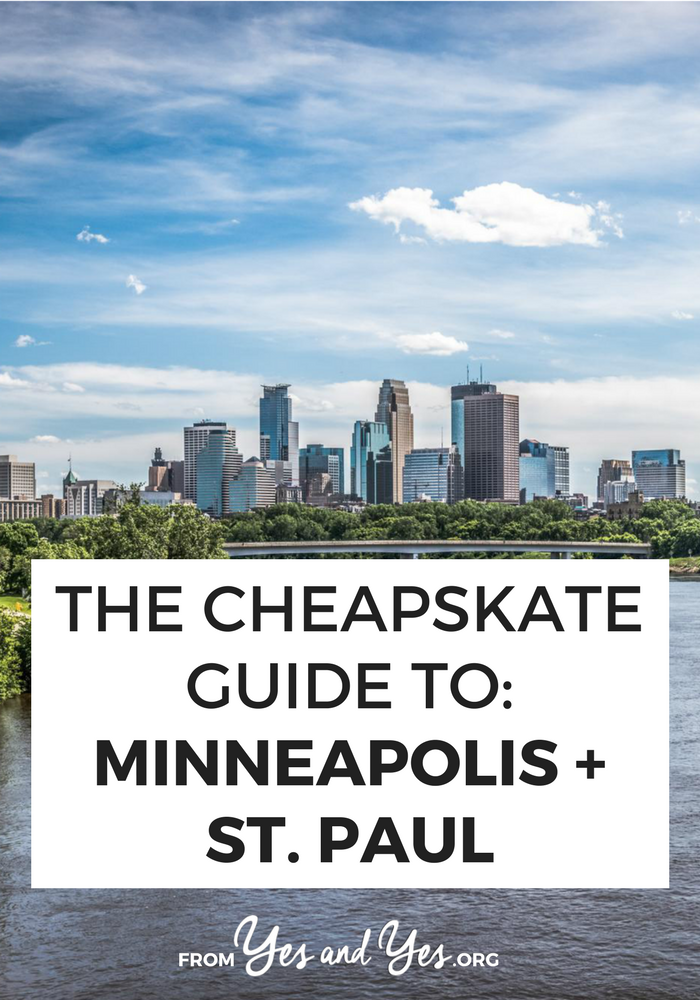 Looking for cheap travel tips for Minneapolis? Click through for Twin Cities budget travel tips from a local - free museums, an inner-city waterfall, and $1 donuts! #minneapolis #cheaptravel #budgettraveltips #minneapolistravel
