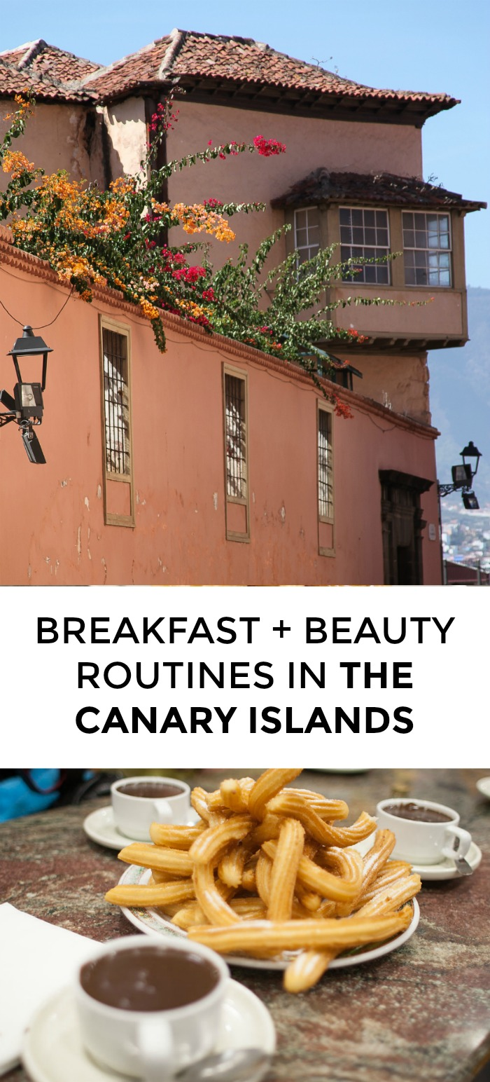 Curious about the beauty routines of the Canary Islands or what women eat for breakfast there? Click through for a great round up of Canary Island beauty products and breakfast recipes!