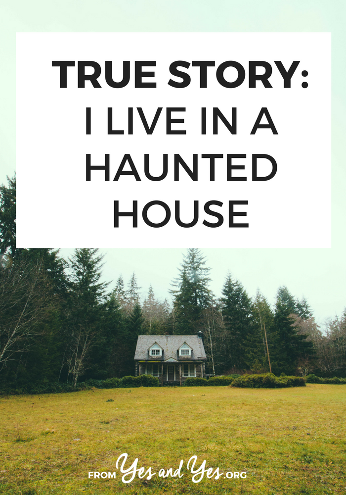 What's it like to live in a haunted house? To communicate with ghosts regularly? Click through to read this super interesting first-person interview! // yesandyes.org