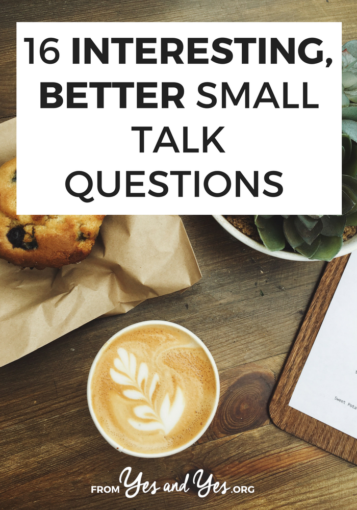 """Do you need better small talk questions? Do you hate networking? If you're an introvert or you're just sick of asking people 'what do you do?"""" Click through for better ideas!"""