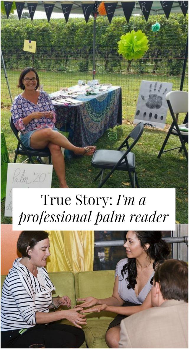 professional palm reader