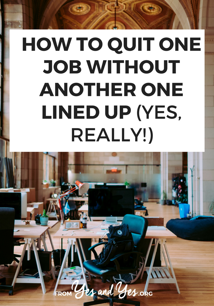 Want to quit a job without another one lined up? Click through for career change tips your haven't heard before! #quityourjob #careerchange