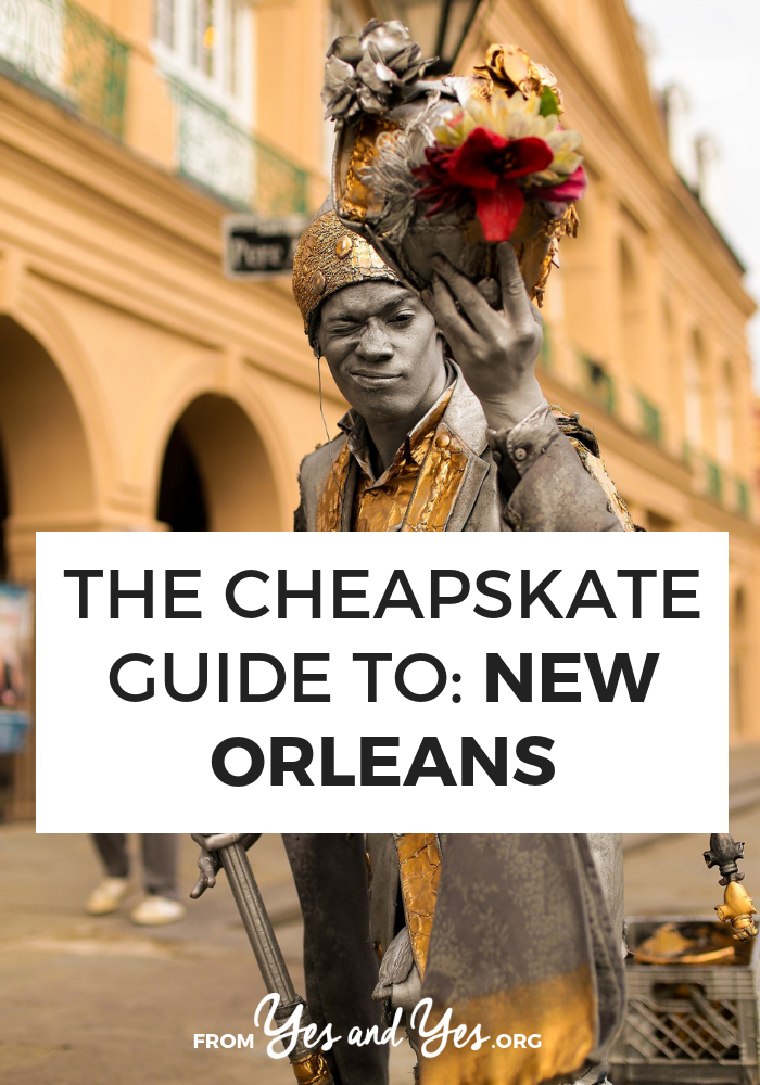 Looking for New Orleans budget travel tips? Read on for a local's best cheap travel tips - what to do, where to go, and what to eat on a budget in New Orleans. #neworleans #budgettravel #cheaptravel #louisianatravel #usatravel #usaroadtrip #travelusa #ustravel #ustraveldestinations #americatravel #travelamerica #vacationusa #usatrip
