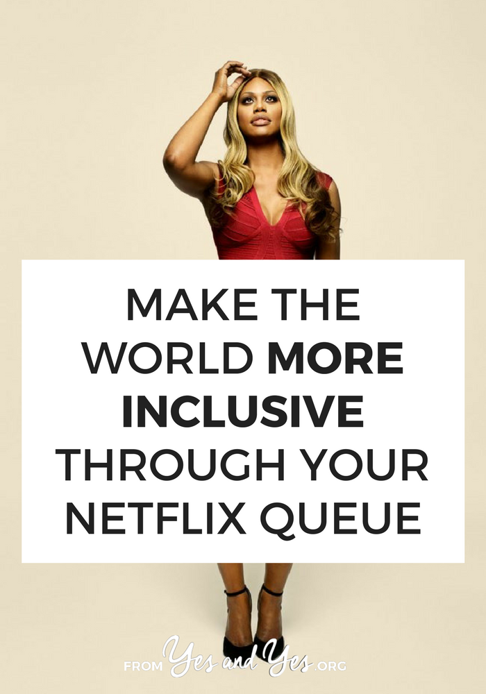 Want to see more inclusive tv shows? Watch shows that are created by + star people who are different than you. When we watch shows like this, we're telling networks + advertisers to make more! #inclusivity #socialjustice #race
