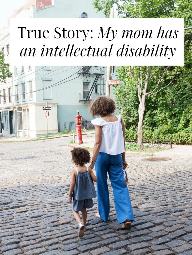mom intellectual disability