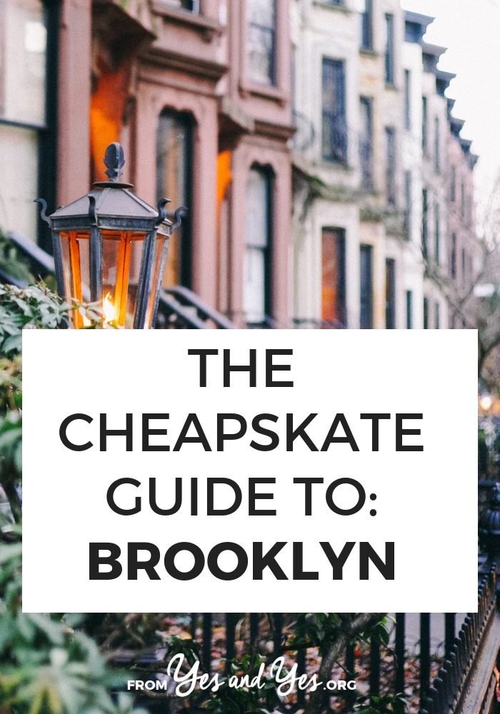 Looking for cheap Brooklyn travel tips? Click through for a local's budget travel tips to Brooklyn - what to do, where to go, and what to eat! #brooklyn #budgettravel #cheaptravel #newyorktraveltips
