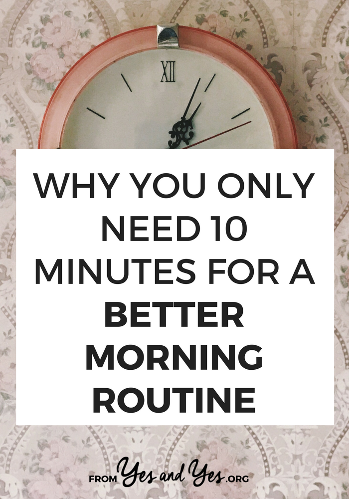 You can have a better morning routine, be more productive, more creative, and more focused just by changing how you spend the first 10 minutes of your day! Tap through for a clever productivity tip you haven't heard before!#habits #goalsetting #productivity #motivation