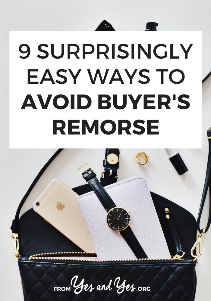 "Do you ever have buyer's remorse? We all do! One of the best budgeting tips is ""buy fewer things you don't need"" Read on to find out how! #budgeting #moneysavingtips #shoppingtips #FIRE #personalfinance"