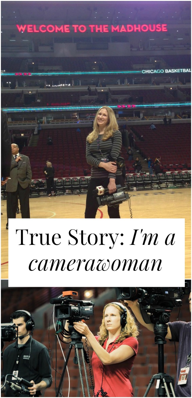 What's it like to work as a camerawoman? What does a camera operator do in an average day at work? Kate shares her stories of shooting for the Chicago Bulls, Oprah, even President Obama! – yesandyes.org