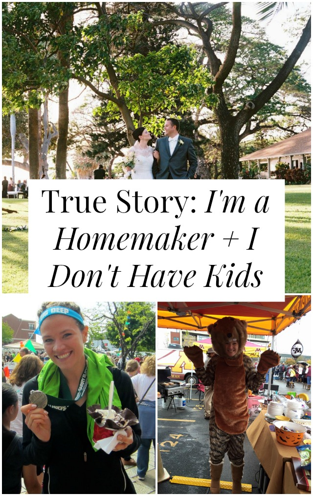 Have you ever wanted to be a stay at home mom ... without the mom part? Want to be a good ol' fashioned homemaker? One woman shares her story on yesandyes.org