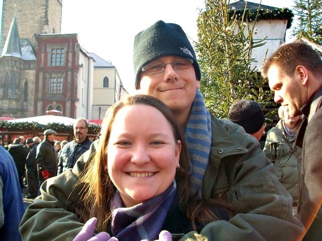 Where do you meet nice guys? If you're Ali Garland, you meet your husband on Twitter ... and then move to Germany to be with him! Click through for Ali's romantic story!