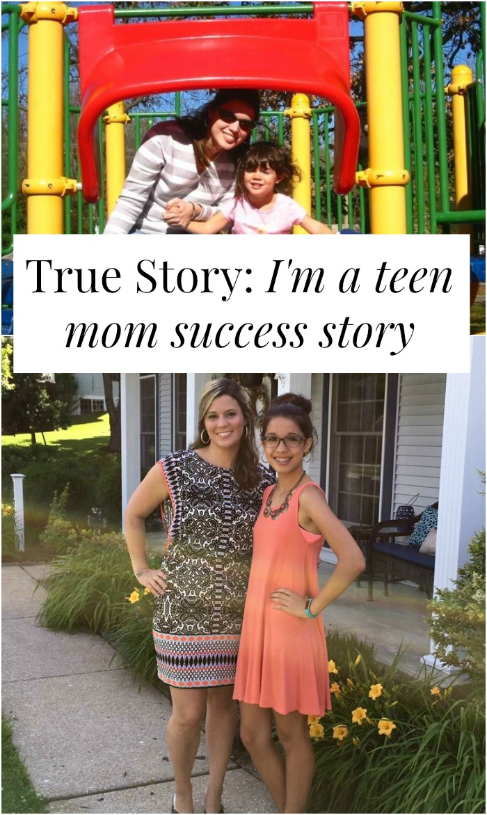 Sometimes you can be a teen mom, keep your baby, and find love and professional success. Click through for Emily's story
