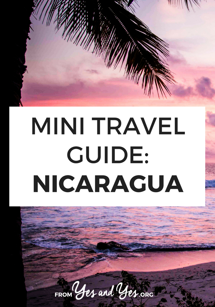 Nicaragua travel tips - from a local! Where to go, what to do, what to eat, and other Nicaragua travel advice. Click through to start planning your trip today!