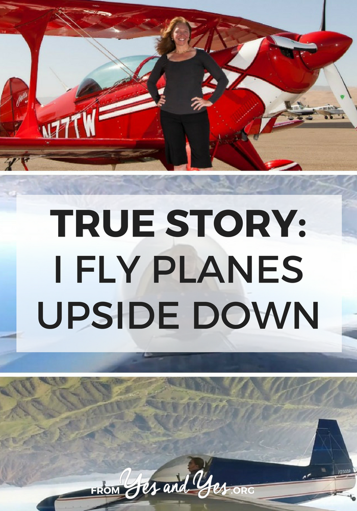 Are you interested in plane aerobatics? Or just looking for a bit of inspiration and bravery? Beth literally woke up one day and decided she wanted to learn how to fly planes. AND THEN SHE DID.
