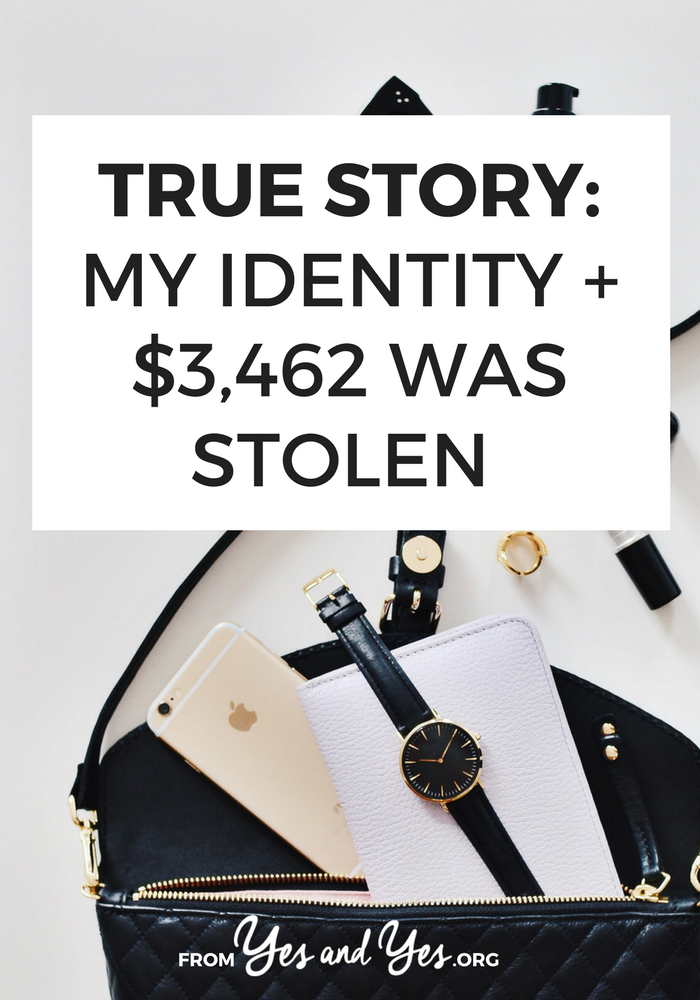 What would you do if your identity was stolen? Click through for one woman's story and tips on how to avoid identity theft!