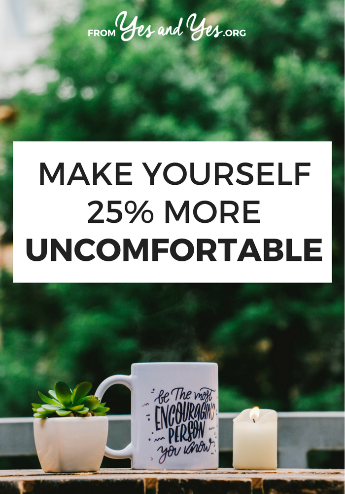 Are you willing to make yourself uncomfortable to get what you want? You don't have to do things you absolutely hate but if you want to reach your goals, you probably need to do this. Click through to find out how I balance discomfort with growth!