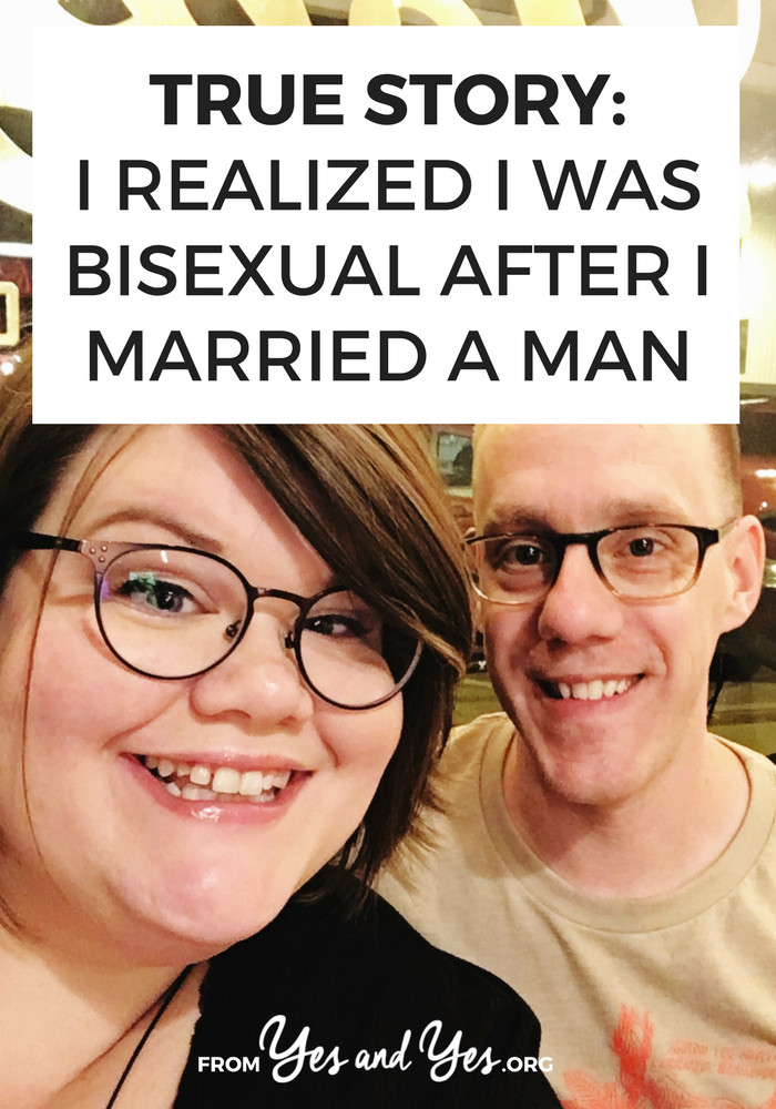 What if you discovered you were bisexual after you married a man? That's exactly what happened to Libby - click through to read her story!