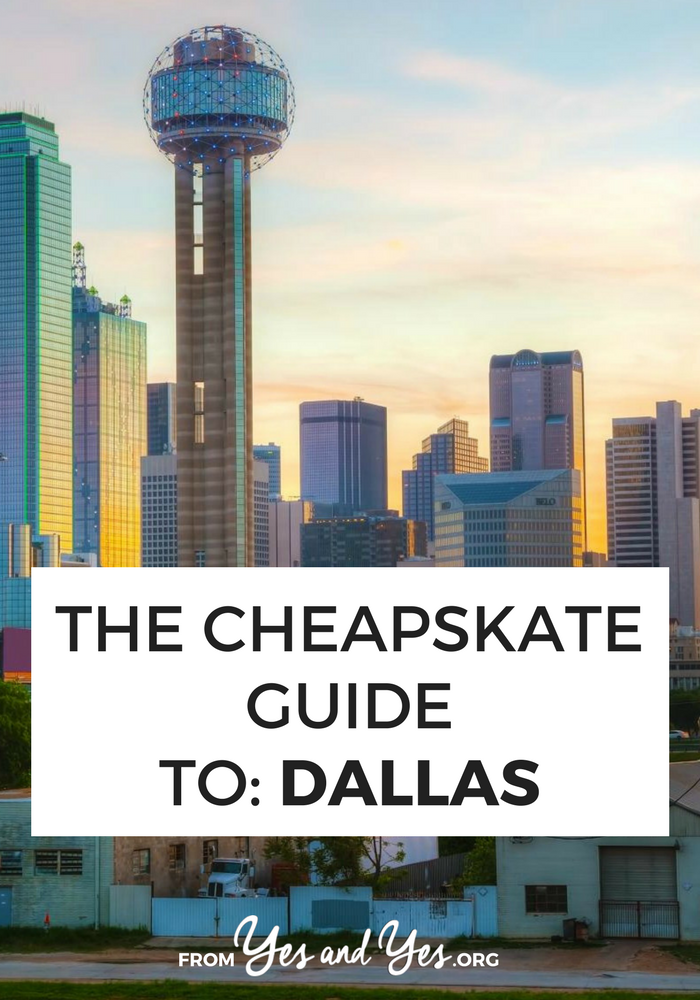 Looking for cheap Dallas travel tips? You're in the right place! Read on for cheap lodging, cheap food, and cheap things to do! #Dallas #cheaptravel #budgettravel #Dallastraveltips