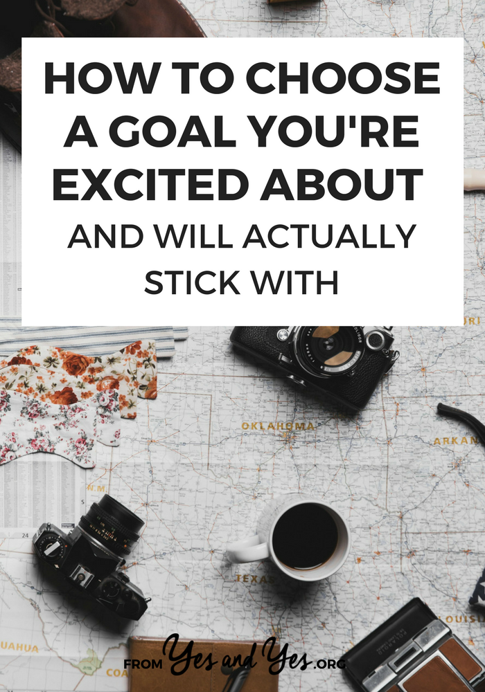 Not sure how to choose a goal to pursue? Struggling to achieve your goals? Tap through for goal-setting tips that are different from anything else you've ever heard! #goalsetting #habitchange #goodhabits #badhabits #Successful #Habits #Routine #DailyHabits #Mindset #SelfImprovement #PersonalDevelopment #PersonalGrowth #SelfHelp #Routines #Balance #GrowthMindset