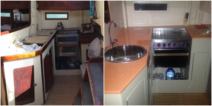 Have you ever wanted to live on a sailboat? Halina and Peter made it happen - and they didn't even know how to sail when they bought their boat! Click through for their sailboat tips and advice for small space living!