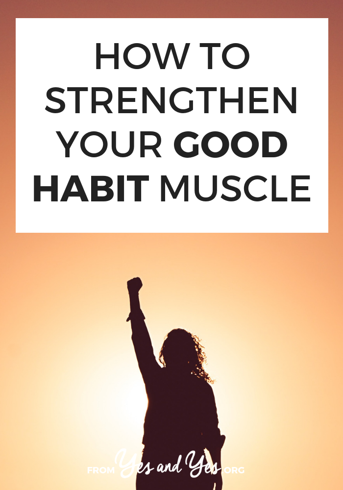 Want to strengthen good habits? Or break bad habits? Click through for some unique habit building tips and goal-setting advice you've probably never heard before! #goalsetting #habits #goodhabits #badhabits
