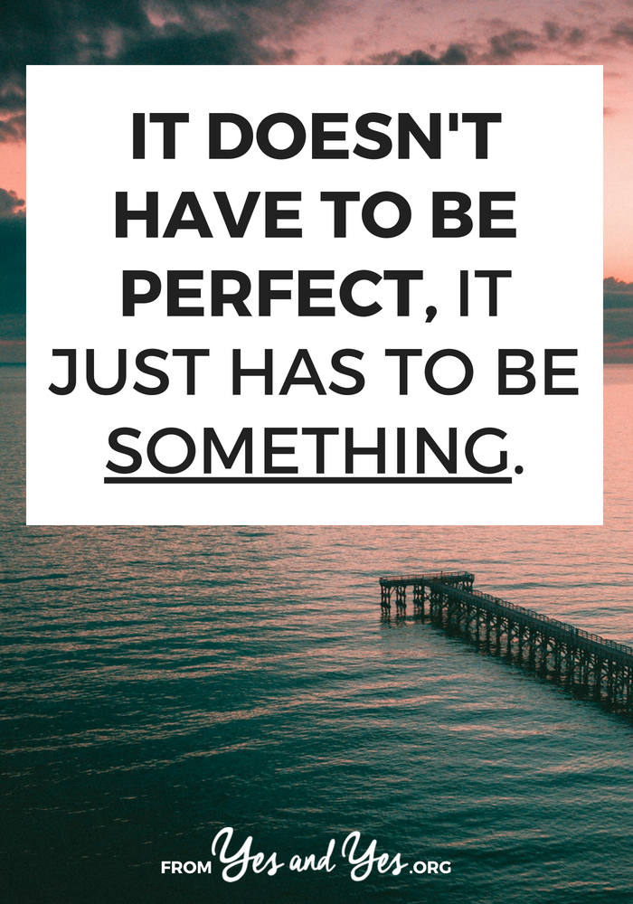 Supporting friends, running a business, making good choices, being politically involved - it doesn't have to be perfect. Doing anything is better than doing nothing. Read on for a pep talk and good ideas! #growthmindset #inspiring #motivation #motivational #personaldevelopment #getoutofyourcomfortzone