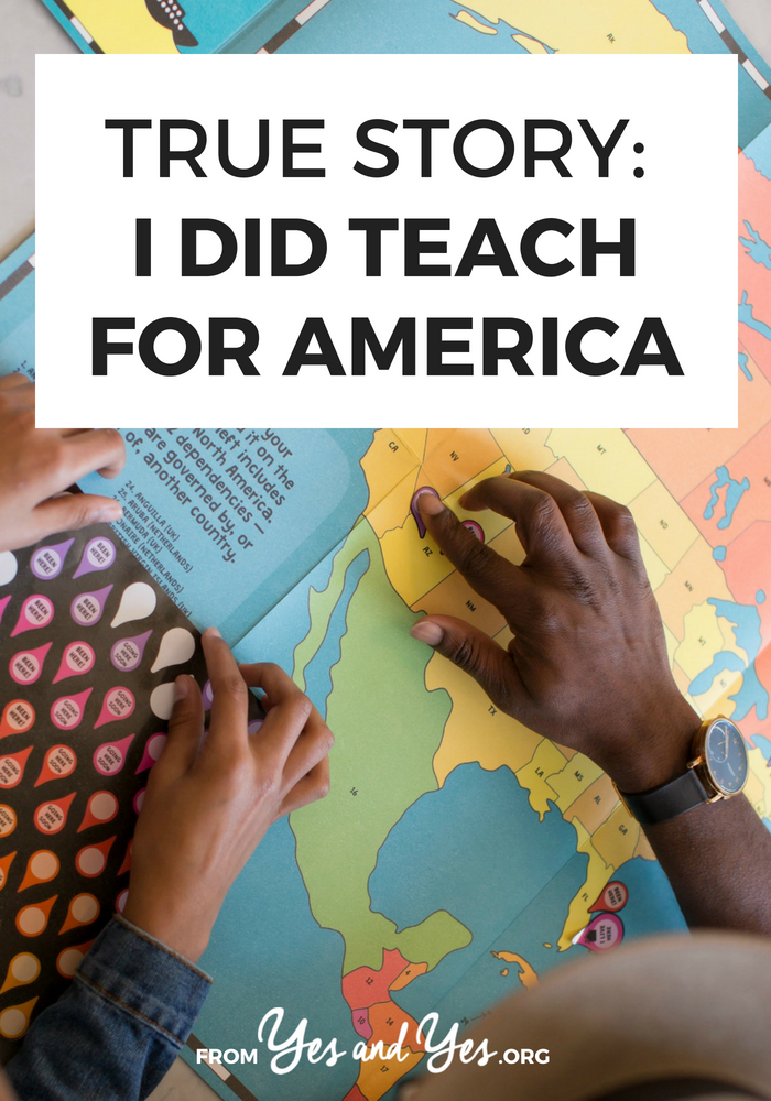 Interested in Teach For America? Wondering what it's like to teach in a low-income area? Click through to read one woman's Teach For America experience!