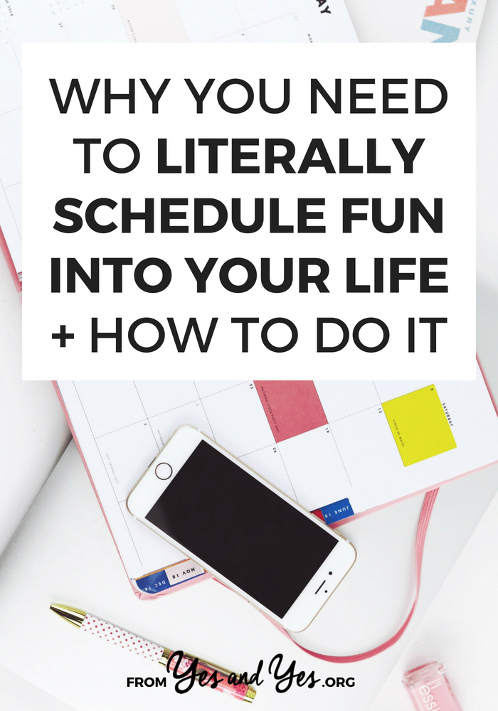 Want more fun in your life? Schedule fun! This might not sound like a budgeting tip, but having more fun makes like on a budget more bearable! #tipstobehappier #waystofeelhappier #feelhappier #thingstodotobehappier #iwanttobehappier #happierlifestyle #howtolivehappier