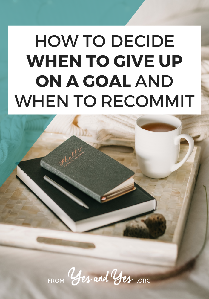 Looking for goal-setting tips you haven't heard before? Not sure if your goals are unrealistic? Read on for 3 tips that will help you achieve your goals (or abandon them!)