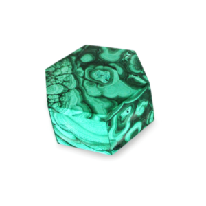 Malachite Trinket Box - Hexagon
