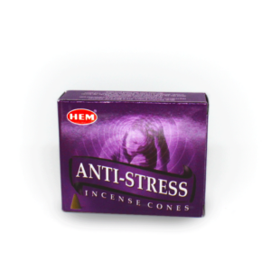 Anti-Stress HEM Incense Cones Box