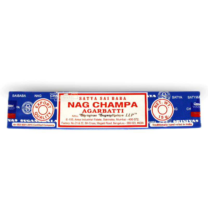 Satya Sai Baba Nag Champa Incense Sticks