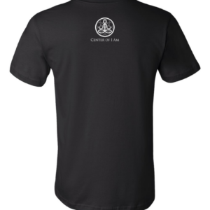 Center of I Am Black Jersey Tee