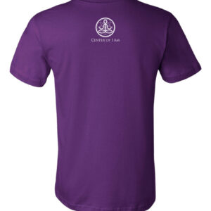 Center of I Am Purple Jersey Tee