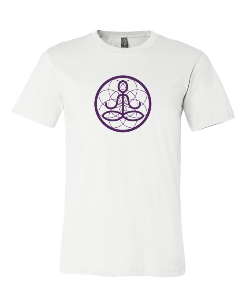 Center of I Am White Jersey Tee