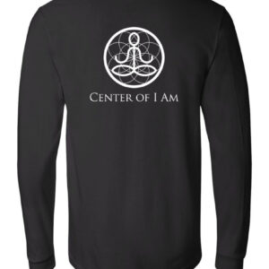 Center of I Am Black Jersey Long Sleeve Tee