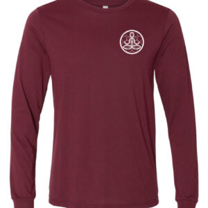 Center of I Am Cardinal Jersey Long Sleeve Tee