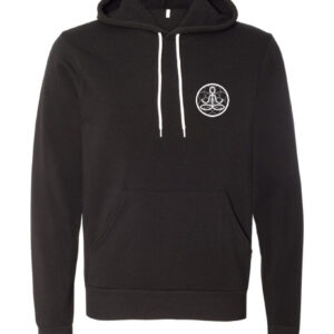 Center of I Am Black Sponge Fleece Hoodie